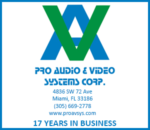 pro audio e video