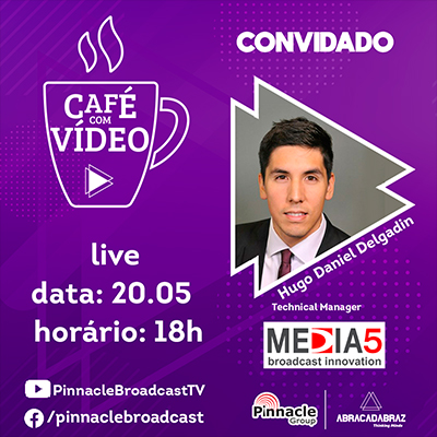 Café con video con Hugo Delgadín de Media 5