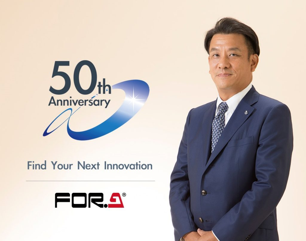 Katsuaki Kiyohara, President and Representative Director, FOR-A Company Limited